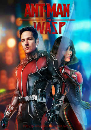 Ant-man And The Wasp 2018 HDRip 300MB Hindi Cleaned Dual Audio 480p Watch Online Full Movie Download bolly4u