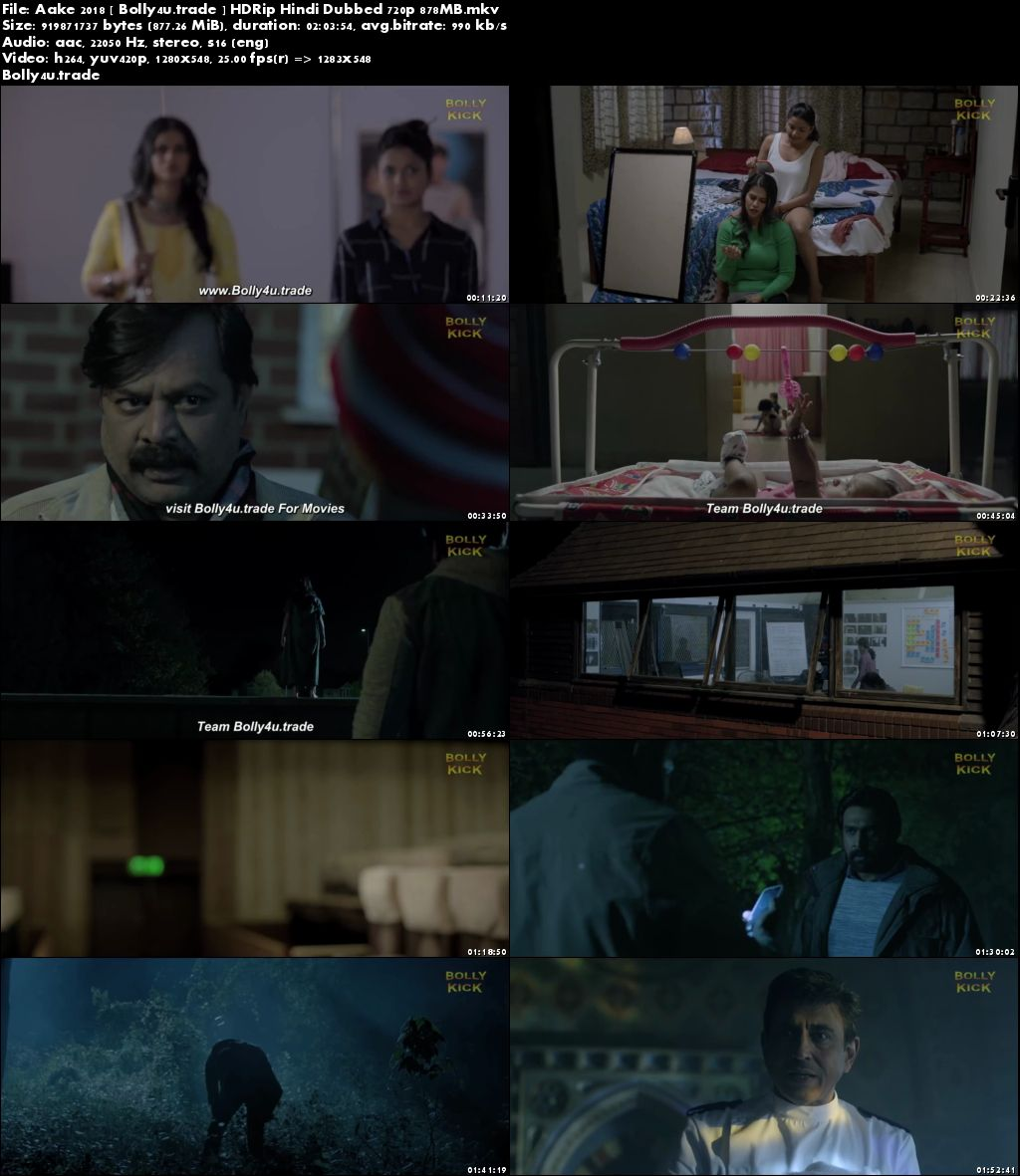 Aake 2018 HDRip 300Mb Full Hindi Dubbed Movie Download 480p