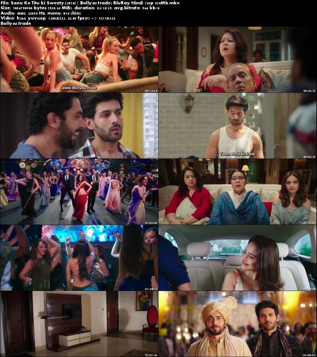 Sonu Ke Titu ki Sweety 2018 BluRay 950Mb Full Hindi Movie Download 720p