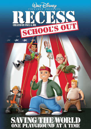 Recess Schools Out 2001 BluRay 250MB Hindi Dual Audio 480p Watch Online Full Movie Download Bolly4u