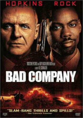 Bad Company 2002 BRRip 300Mb Hindi Dual Audio 480p