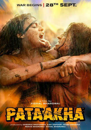 Pataakha 2018 Pre DVDRip 700MB Full Hindi Movie Download x264 Watch Online Bolly4u