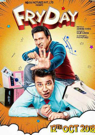 FryDay 2018 Pre DVDRip 700MB Full Hindi Movie Download x264 Watch Online Free Bolly4u