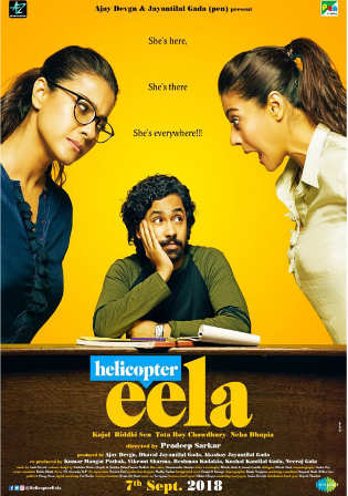 Helicopter Eela 2018 Pre DVDRip 300MB Full Hindi Movie Download 480p