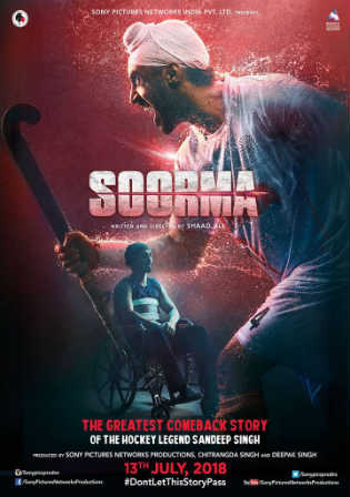 Soorma 2018 HDRip 900Mb Full Hindi Movie Download 720p Watch Online Free Bolly4u