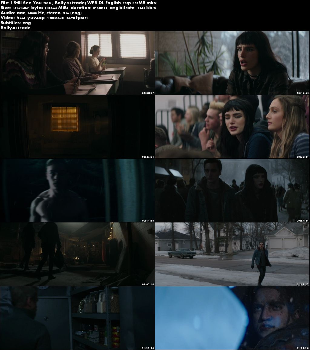 I Still See You 2018 WEB-DL 800Mb Full English Movie Download 720p