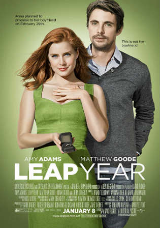 Leap Year 2010 BRRip 300Mb Hindi Dual Audio 480p