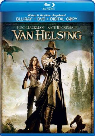 Van Helsing 2004 BluRay 400MB Hindi Dual Audio 480p ESub