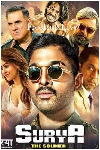Surya The Soldier 2018 Movie ORG Hindi Dubbed 450MB HDRip 480p