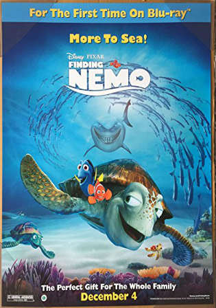Finding Nemo 2003 BluRay 300MB Hindi Dual Audio 480p