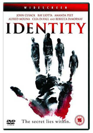 Identity 2003 BluRay 300Mb Hindi Dual Audio 480p