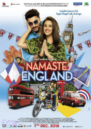 Namaste England 2018 Pre DVDRip 700MB Full Hindi Movie Download x264