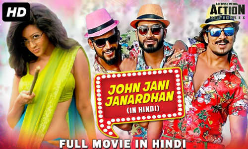 John Jani Janardhan 2018 HDRip 300MB Hindi Dubbed 480p