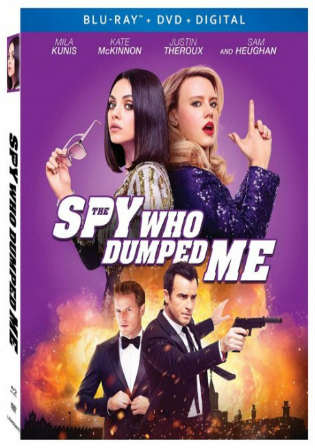 The Spy Who Dumped Me 2018 BRRip 300MB English 480p ESub