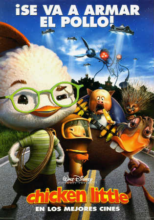 Chicken Little 2005 BluRay 250MB Hindi Dual Audio 480p Watch Online Full Movie Download Bolly4u