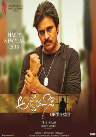 Agnyaathavaasi 2018 HDRip UNCUT Hindi Dual Audio 720p Watch Online Full Movie Download Bolly4u