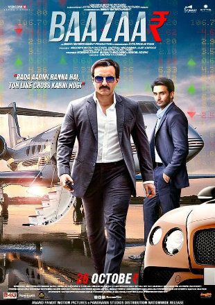 Baazaar 2018 Pre DVDRip 300Mb Full Hindi Movie Download 480p