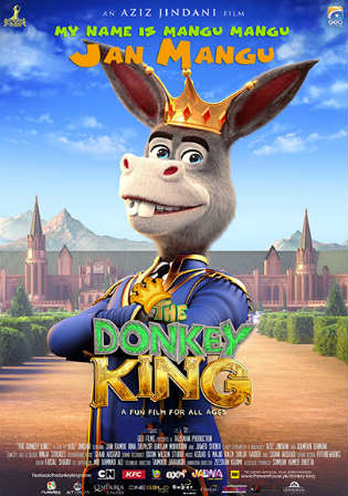 The Donkey King 2018 Pre DVDRip 300MB Full Urdu Movie Download 480p Watch Online Free Bolly4u 300Mb Movies