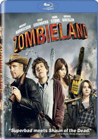 Zombieland 2009 BluRay 600MB Hindi Dual Audio 720p