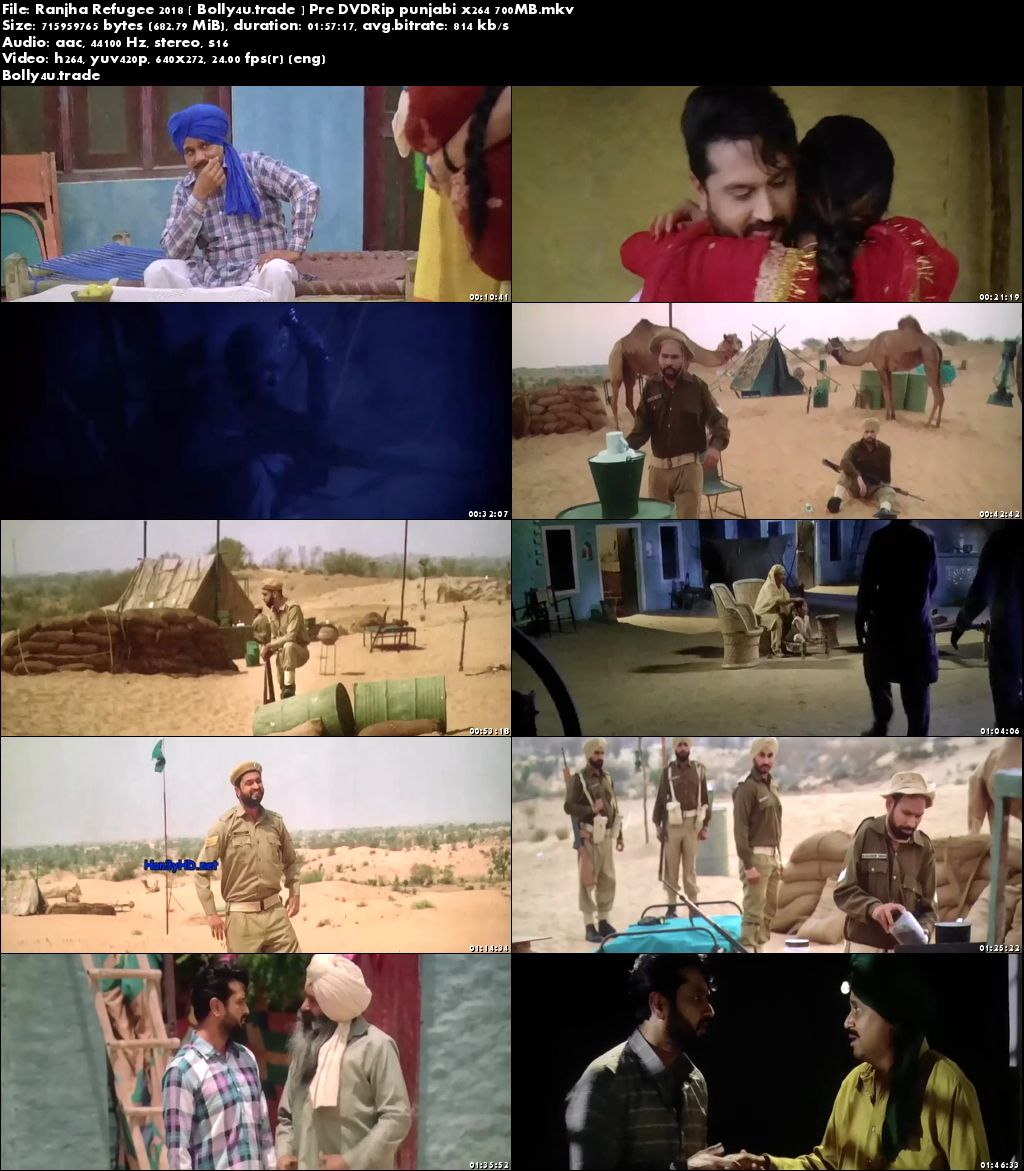 Ranjha Refugee 2018 Pre DVDRip 700Mb Full Hindi Movie Download x264