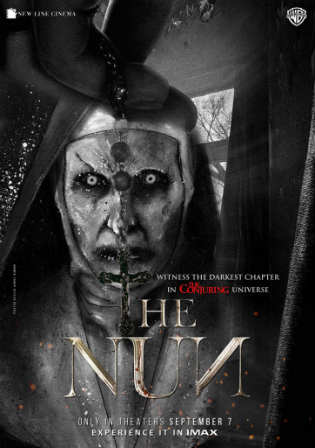 The Nun 2018 HDRip 300MB Hindi Dual Audio 480p Watch Online Full Movie Download Bolly4u