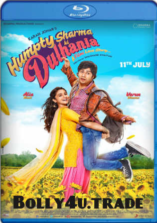 Humpty Sharma Ki Dulhania 2014 BluRay 300MB Hindi 480p Watch Online Full Movie Download Bolly4u