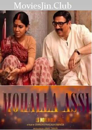 Mohalla Assi 2018 Full Movie pDvDRip Hindi 400MB