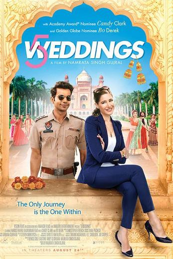 5 Weddings 2018 300MB Hindi Movie pDvDRip x264