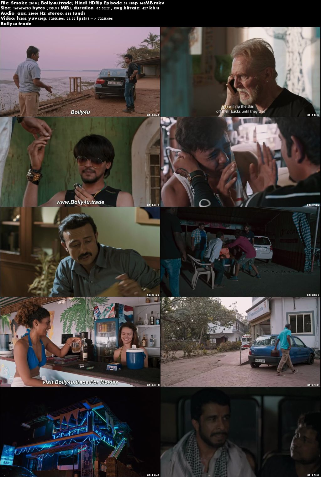 Smoke 2018 HDRip 160MB Episode 02 Hindi 480p ESub Download