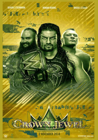WWE Crown Jewel 2018 PPV HDTV 650MB 480p 02 November 2018 Watch Online Free Download Bolly4u