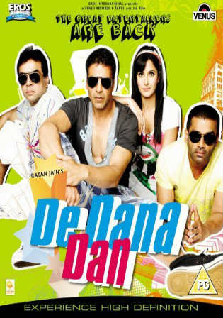 De Dana Dan 2009 BRRip 450mb Full Hindi Movie Download 480p