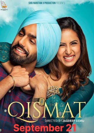 Qismat 2018 Pre DVDRip 300MB Full Punjabi Movie Download 480p Watch Online Free Download Bolly4u