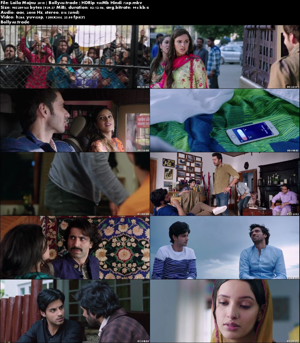 Laila Majnu 2018 HDRip 300Mb Full Hindi Movie Download 480p Download