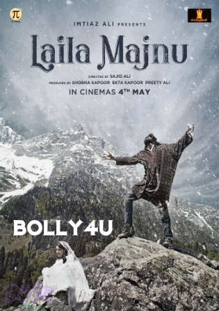 Laila Majnu 2018 HDRip 300Mb Full Hindi Movie Download 480p Watch Online Free Bolly4u