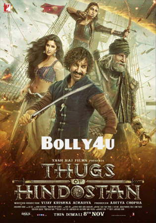 Thugs of Hindostan 2018 New Pre DVDRip 400Mb Full Hindi Movie Download 480p