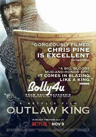 Outlaw King 2018 WEB-DL 300Mb English 480p ESub Watch Online Full Movie Download Bolly4u