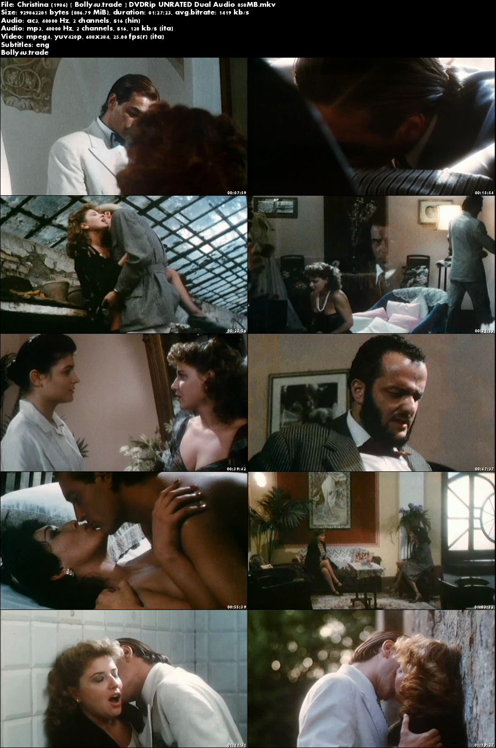 [18+] Christina 1986 DVDRip 850MB UNRATED Hindi Dual Audio x264 Download