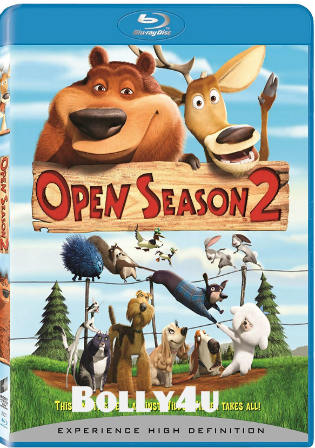 Open Season 2008 BRRip 250Mb Hindi Dual Audio 480p Watch online Free Download Bolly4u
