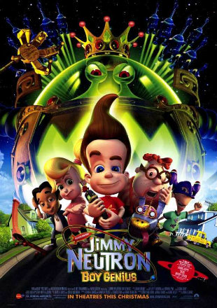 Jimmy Neutron Boy Genius 2001 BRRip 750Mb Hindi Dual Audio 720p Watch Online Full Movie Download Bolly4u