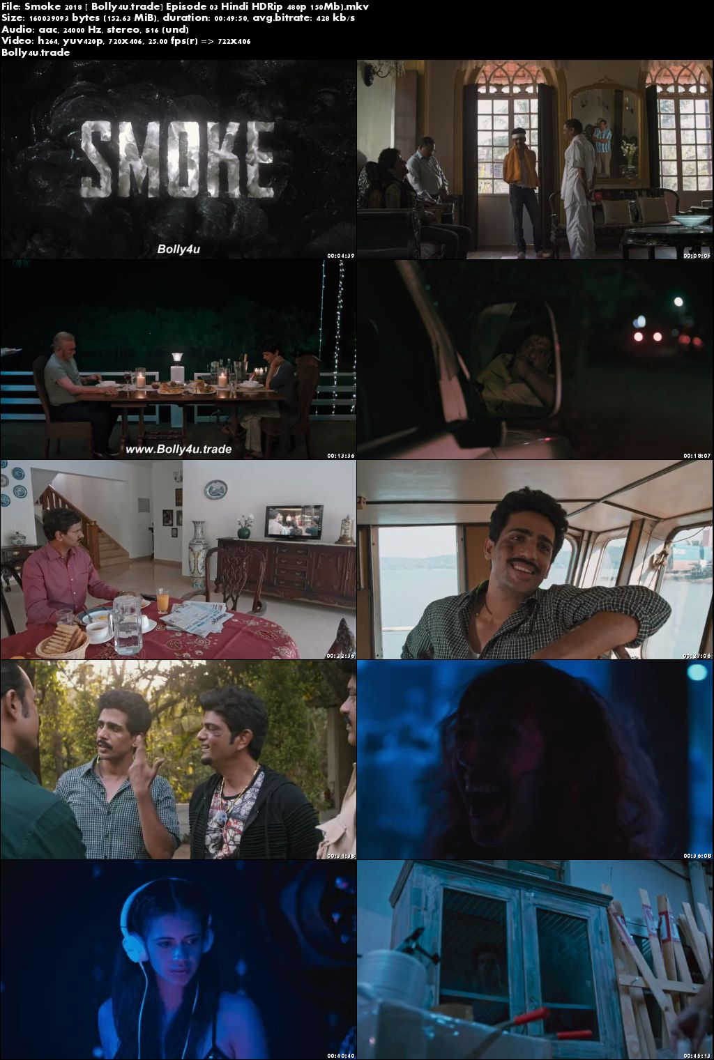 Smoke 2018 HDRip 150MB Episode 03 Hindi 480p Download