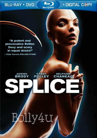 Splice 2009 BRRip 300Mb Hindi Dual Audio 480p Watch Online Full Movie Download Bolly4u