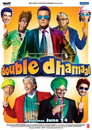 Double Dhamaal 2011 BRRip 400mb Full Hindi Movie Download 480p Watch Online Free Bolly4u