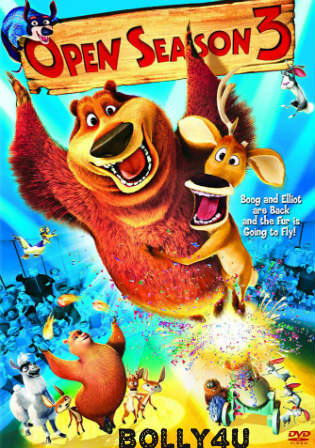 Open Season 2010 BRRip 250Mb Hindi Dual Audio 480p