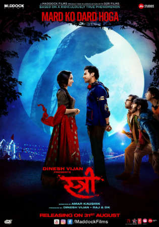 Stree 2018 HDRip 300Mb Full Hindi Movie Download 480p