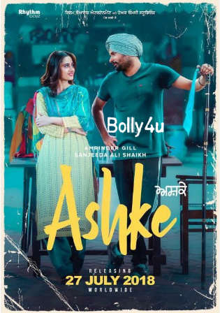 Ashke 2018 HDRip 600Mb Punjabi Full Movie Download 720p