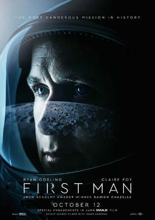 First Man 2018 HC HDRip 400MB English 480p Watch Online Full Movie Download Bolly4u
