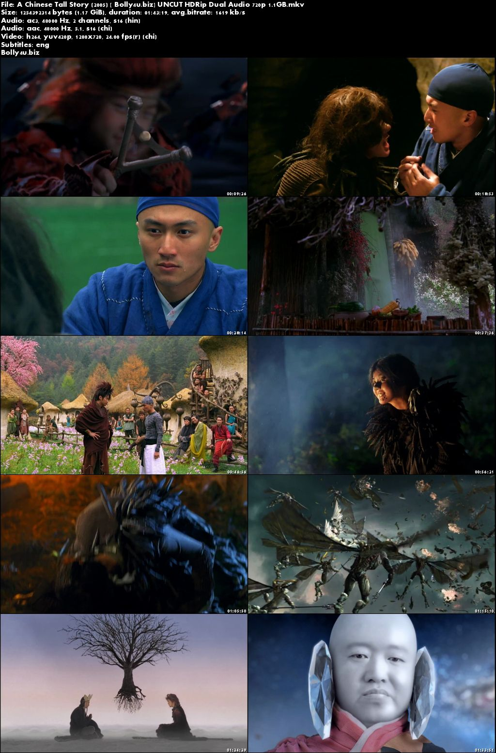 A Chinese Tall Story 2005 HDRip UNCUT Hindi Dual Audio 720p Download