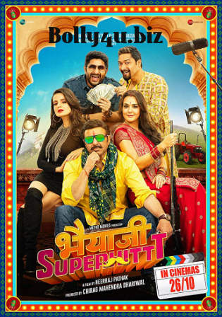 Bhaiaji Superhit 2018 Pre DVDRip 700Mb Full Hindi Movie Download x264 Watch Online Free bolly4u