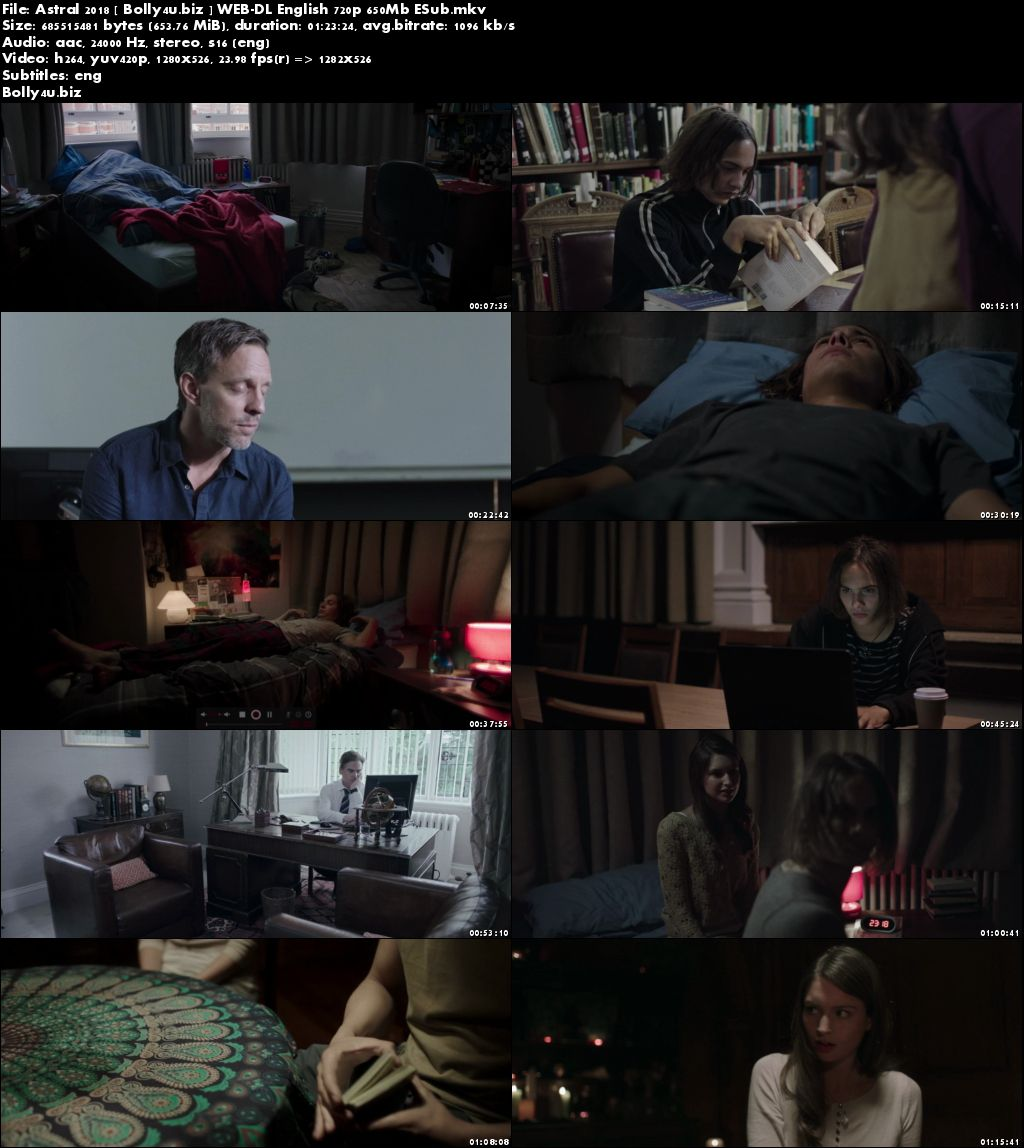 Astral 2018 WEB-DL 250Mb Full English Movie Download 480p ESub