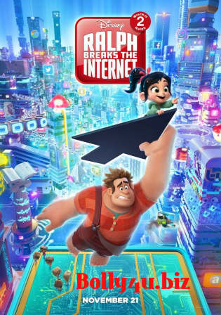 Ralph Breaks The Internet 2018 HDCAM 700Mb Hindi Dubbed 720p Watch Online Full Movie Download bolly4u